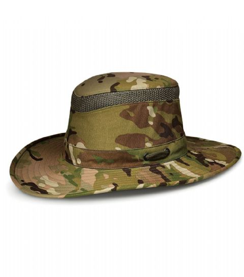 Tilley Unisex LTM6 MultiCam Hat - Guaranteed for Life, High UPF protection